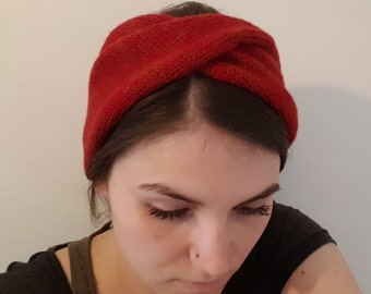 Headband, made of soft merino wool