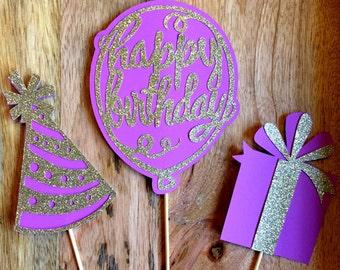 Birthday Centerpieces, Birthday, Happy Birthday, Birthday decorations, Birthday decor, Birthday Party Decorations, Birthday Party