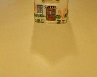 Annie Rowe Coffee Canister The Village Collectibles
