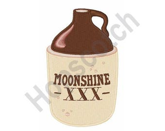 Moonshine - Machine Embroidery Design