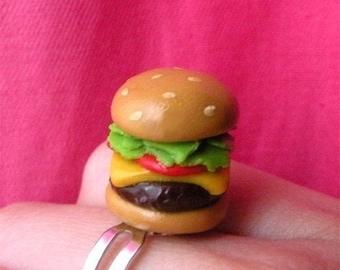 Yummy Handmade Burger Ring