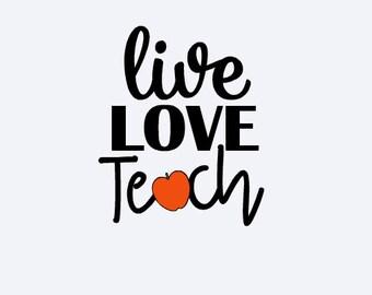 Teacher Gift - Teacher Decal - Teacher Yeti Decal - School Decal - School Yeti Decal