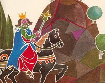 King Krakus and the Dragon by Janina Domanska