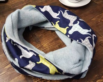 Upcycled Cashmere Scarf