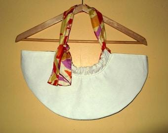 Bag half-moon in cotton