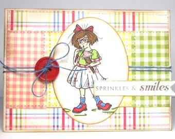 Sprinkles & Smiles - Card and Envelope