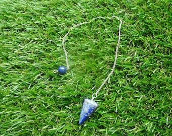 Lapis Lazuli Pendulum Natural Crystals Raw Crystals