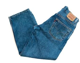 Vintage 90s Levi's 550 Jeans High Waist 34 x 29