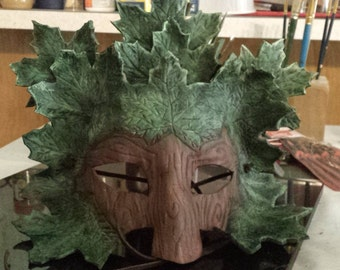 greenman leather mask