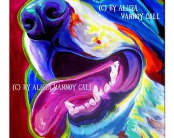 Bernese Mountain Dog, Pet Portrait, DawgArt, Dog Art, Bernese Mountain Dog Art, Pet Portrait Artist, Colorful Pet Portrait, Art Prints,