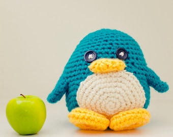 Huggable Penguin (choose your color)
