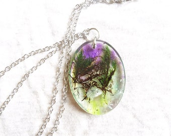 Dreamy Moss necklace