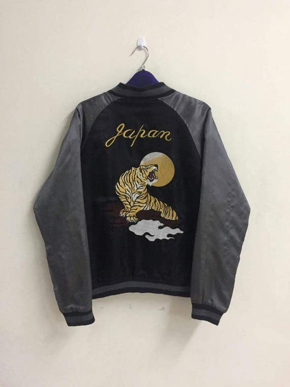 Sukajan jackets bomber modified unstudio wear japanese souvenirs traditional kingdom extra large mint condition dZqzQ