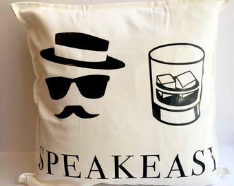 Roaring 20s Pillow | 20s Home Decor | Great Gatsby