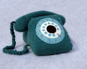 Rotary Phone Knitting Pattern
