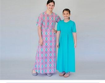Girl's Basic Dress Patterns sizes 10,12,14,16