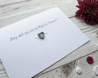 Maid of Honor Gift - Maid of Honor Proposal - Maid of Honour - Maid of Honor - Maid of Honor Card - Maid of Honour Gift - Wedding Card