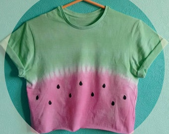Watermelon Crop Top Tshirt