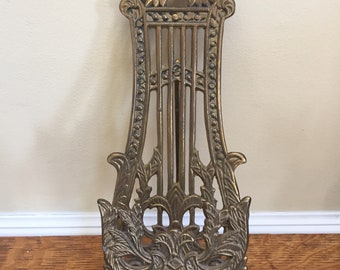 Brass Easel Plate Picture Stand