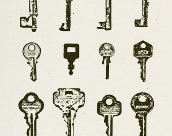 Keys (Found Objects)