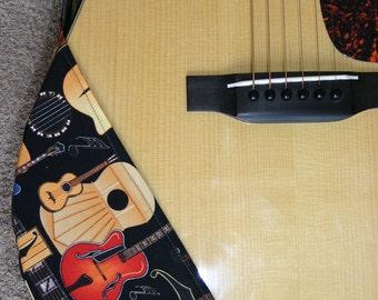 Guitar Ragtop. Item No.1- Guitars on Black-A