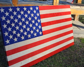 American Flag Tiger Maple 3 FT