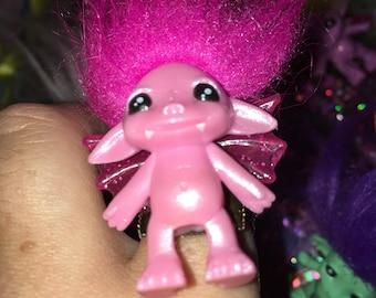 Fairy winged creature  zelfs troll rings