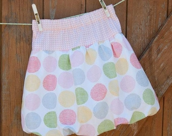 Bubble Skirt Pdf Pattern, Pdf skirt pattern ,Skirt pattern sizes 6M to 12 years