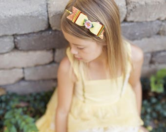 Autumn Fairy Isabelle Bow