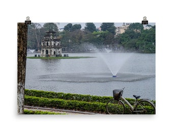 Hoan Lake Unframed Print