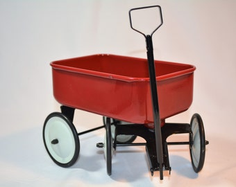 Little Red Wagon, All Metal, Doll sized