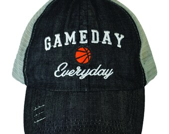 Gameday Everyday Basketball Hat WAS 19.95 NOW 11.97