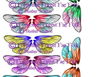 Treble fairy wings