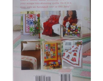 Go Scrapping With Accuquilt, Quilting Patterns Softcover Book From Annie'S