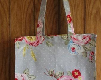 Hand Made Every Day Shopping bag-Tote -Handbag-Lunch bag-Beach bag-shoulder bag