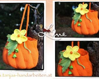 Pumpkin Purse Crochet Pattern