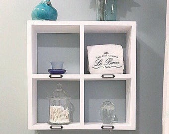 Bathroom Shelf with Towel Bar Towel Rack Towel Rod