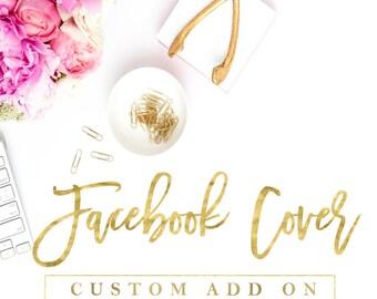 Custom Facebook Cover, Facebook Banner, Facebook Timeline Banner, Custom Timeline Cover Photo