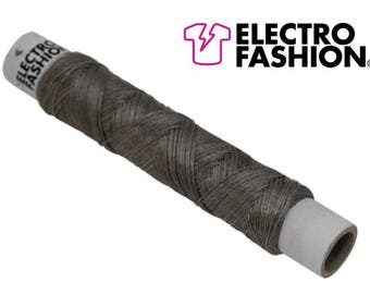 Electro-Fashion conductive thread, 50 yards/ 45m Conductive Thread e textiles