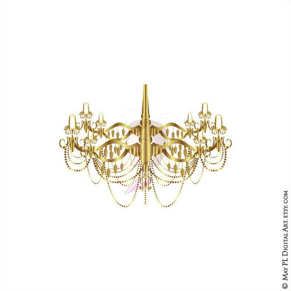Chandelier frame vector gold clipart vintage signs great as 50 aloadofball Image collections