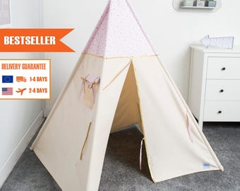 tipi set kinder spielen tipi zelt tipi kid spielhaus tipi zelt. Black Bedroom Furniture Sets. Home Design Ideas