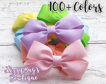 Hair Bows for Girls~Toddler Hair Bows~Baby Hair Accessories~Spring/Easter Hair Bow~Easter Hair Accessories~Girl Easter Basket Gift~Hairbows~