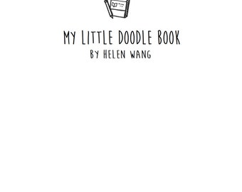 My Little Doodle Book (printable)