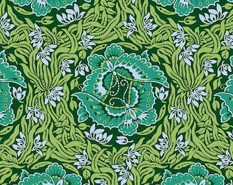 Take Flight Jade Green - Violette - Amy Butler - 100% Quilters Cotton Available in Yards, Half Yards and Fat Quarters