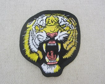 Iron-on Patch, Tiger Patch, Embroidered Patch for Jeans, Backpacks