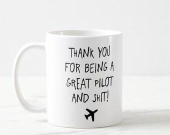Pilot Mug, Funny Pilot Mug, Plane Mug, Pilot Gifts, Airplane Mug, Co-Pilot Gift, Aviation, Aviation Gifts, Pilot Mug, Gifts For Pilots