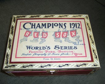 Red Sox Cigar Box Baseball Stadium