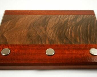 Key Holder / Wood Key Holder / Magnetic Key Holder /  Christmas Gift / Housewarming Gift / Wedding Gift / Decorative Key Holder