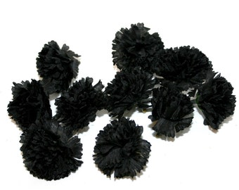 Baby Black Carnations - 25 Count - Artificial Flowers - PRE-ORDER