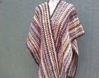 Crocheted Women's Wrap